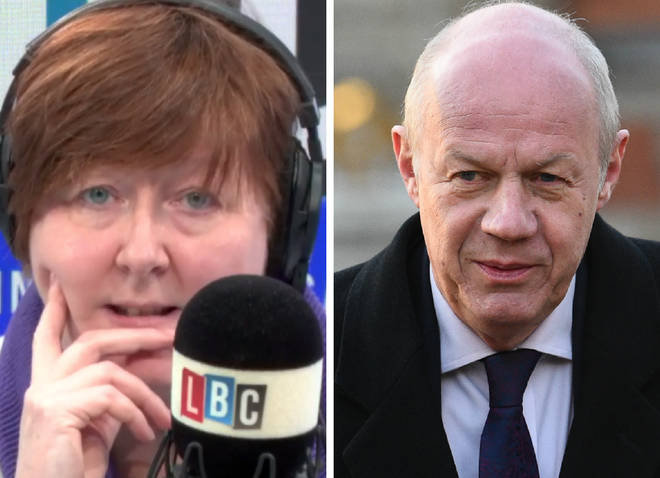 Shelagh Fogarty took on Damian Green on Wednesday