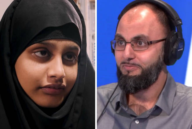 Immigration lawyer Fahad Ansari spoke about the Begum case on Wednesday