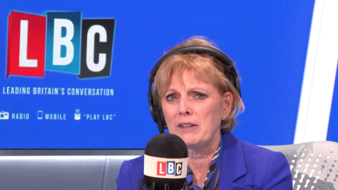 Anna Soubry confronted by an angry LBC caller on Wednesday