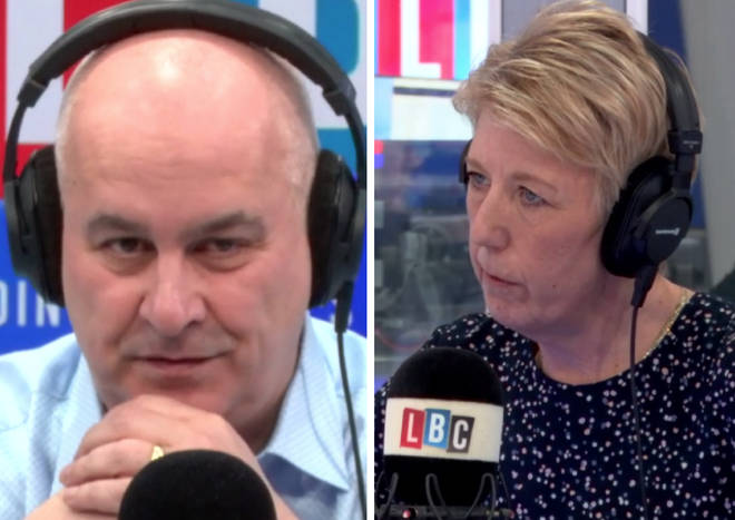 Angela Smith came under fire from Iain Dale during Cross Question
