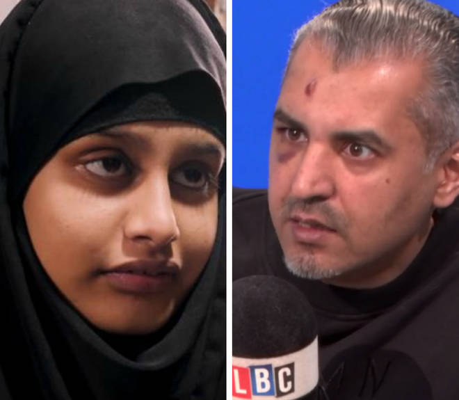 Maajid Nawaz gave his verdict on Shamima Begum