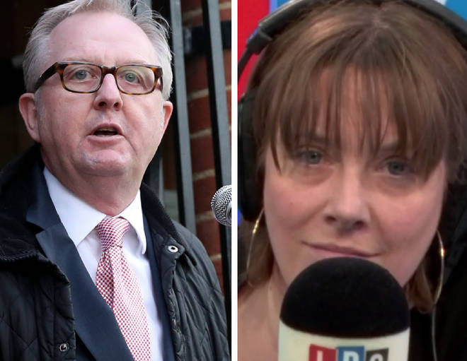 Ian Austin spoke to Jess Phillips on LBC