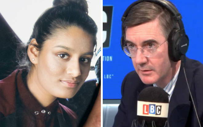 Jacob Rees-Mogg tells LBC why he is AGAINST revoking Shamima Begum's UK citizenship.