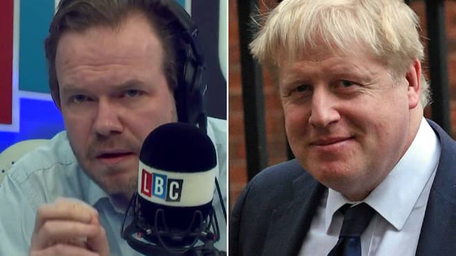 James O'Brien accused Boris Johnson of spreading fake news