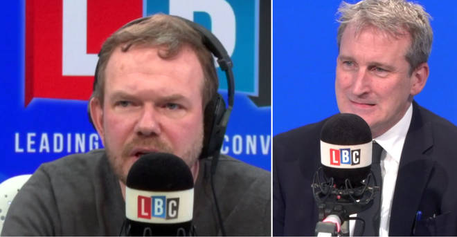 James O'Brien had some tough questions for Damian Hinds