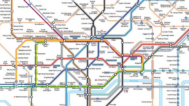 New TfL map for people with anxiety