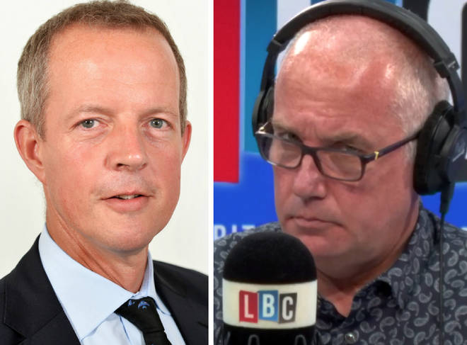 Nick Boles spoke to Eddie Mair on Monday