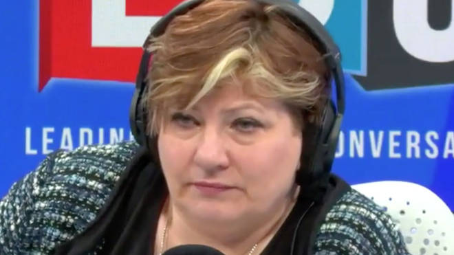 Emily Thornberry spoke to Iain Dale on Monday night
