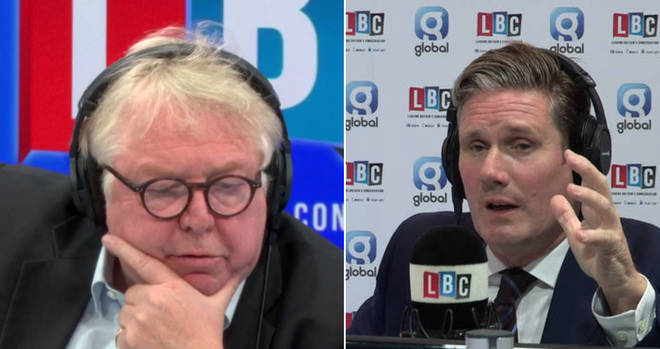 Nick Ferrari had a tough question for Keir Starmer