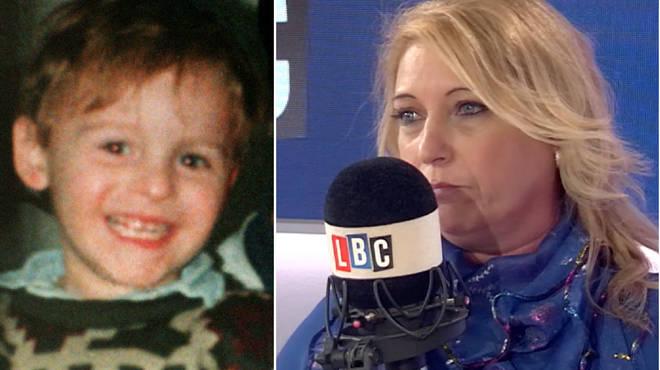 Denise Fergus, Jamie Bulger's mother, spoke to LBC