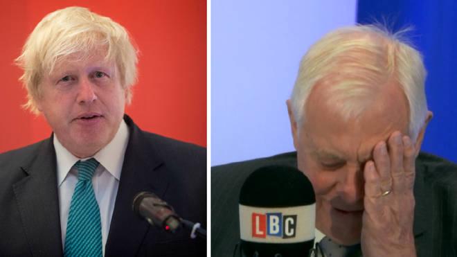 Boris Johnson Lord Patten