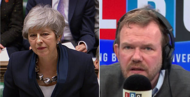 James O'Brien responded to Theresa May's statement