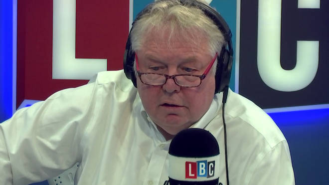 Nick Ferrari couldn't believe what he heard from Ben