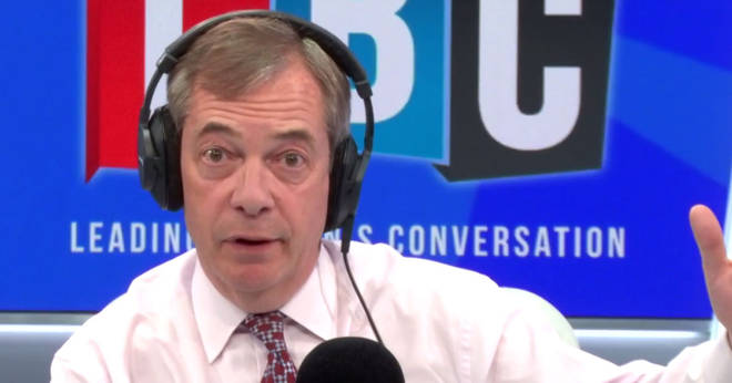 Nigel Farage threatened to boycott a second referendum on Tuesday night