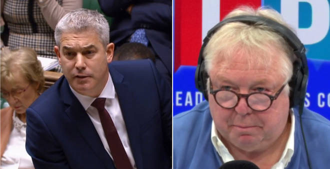 Nick Ferrari spoke to Brexit Secretary Stephen Barclay