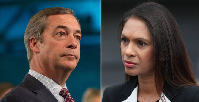 Nigel Farage and Gina Miller found a rare moment of agreement
