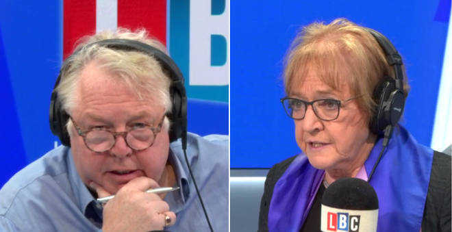 Nick Ferrari spoke to Dame Margaret Hodge about Chris Williamson's suspension
