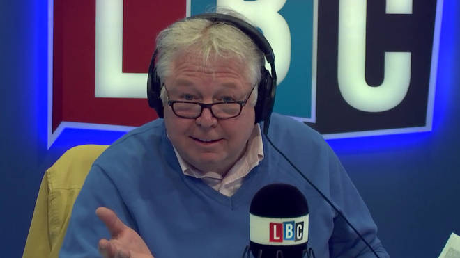 Nick Ferrari left listeners in hysterics with his take on Gavin Williamson