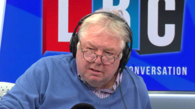 Nick Ferrari disagreed with what his guest told him