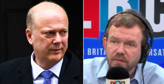 James O'Brien had some strong words for Chris Grayling