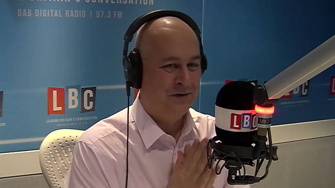 Iain Dale gave Daniel a round of applause for his Trump speech