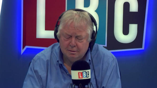 Nick Ferrari was left shocked by what caller Louis told him about the Grenfell residents