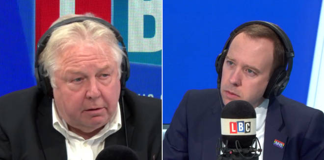 Nick Ferrari spoke to Matt Hancock about vaccinations