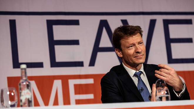 Leave Means Leave campaign co-chair Richard Tice