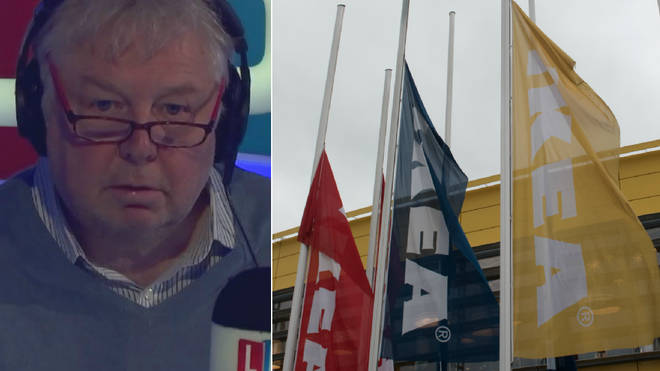 Nick Ferrari was given a brilliant tip on how to shop at Ikea