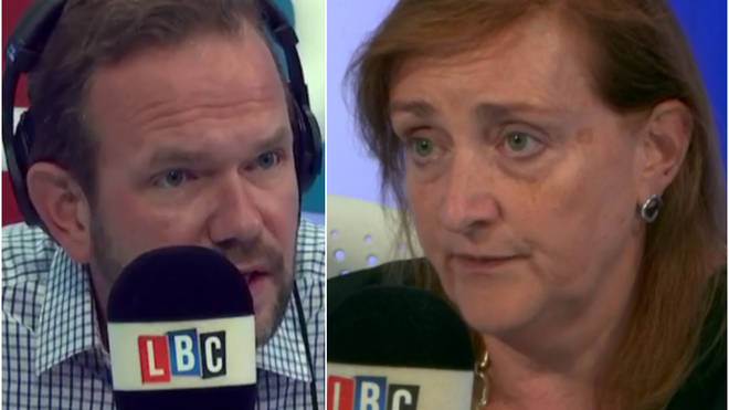James O'Brien with Emma Dent-Coad