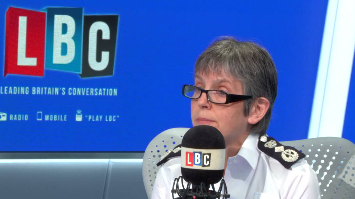 Call The Commissioner: Cressida Dick On LBC - Watch Live From 8am