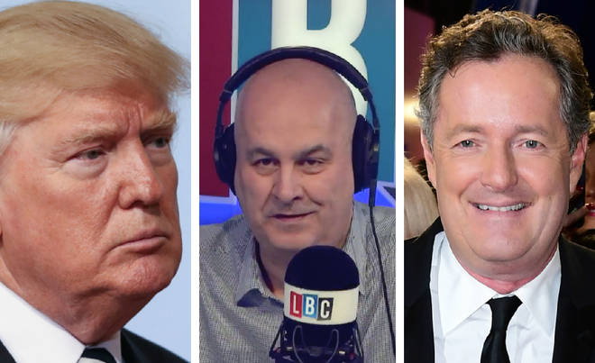Donald Trump, Iain Dale, Piers Morgan