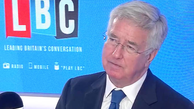Sir Michael Fallon spoke to Tom Swarbrick