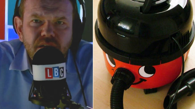 James O'Brien and a Henry Hoover