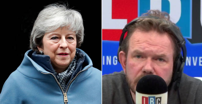 James O'Brien's monologue on Theresa May was very popular