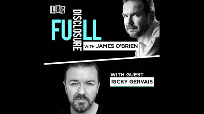 Full Disclosure with Ricky Gervais
