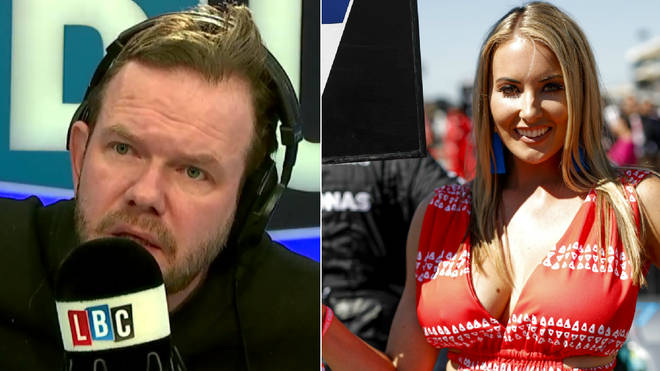 James O'Brien was discussing grid girls with his callers