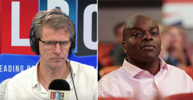 Andrew Castle spoke to Shaun Bailey