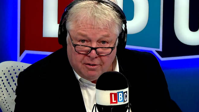 Nick Ferrari was unhappy at the state of NHS spending