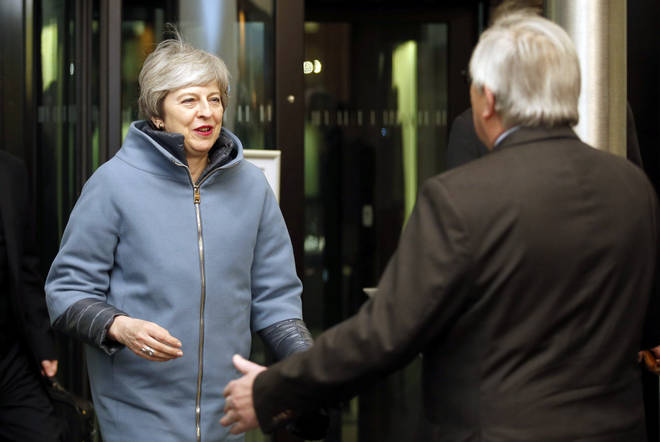 "Theresa May has secured ""legally-binding"" changes to her Brexit deal"
