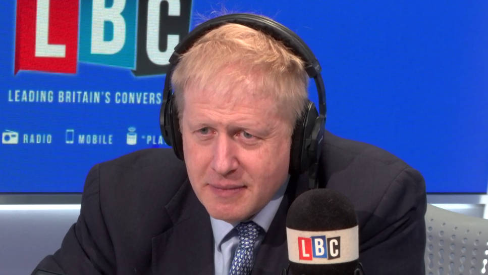 Angry Caller Accuses Boris Johnson Of Misleading The Public Over Brexit