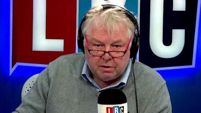Nick Ferrari's chat with Mike Sivier got very heated