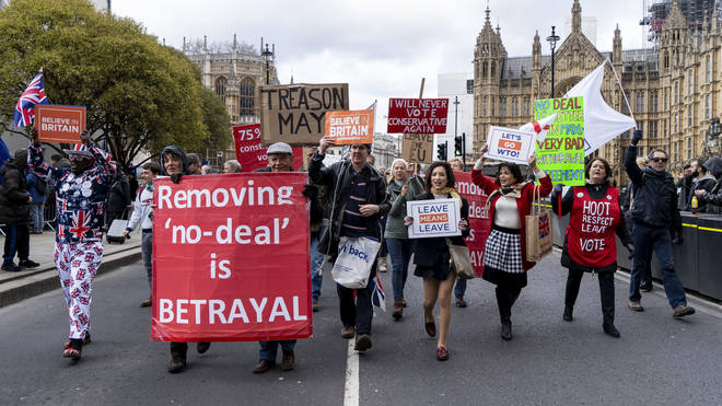 A no-deal Brexit could be taken off the table tonight
