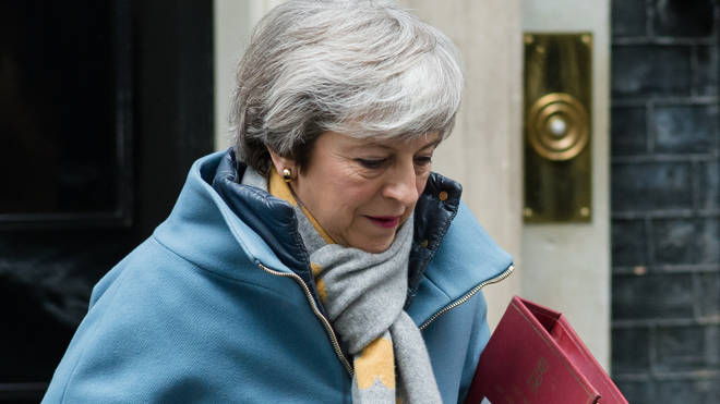 Theresa May will vote against leaving the EU without a deal on March 29th