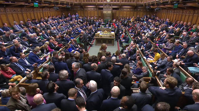 House of Commons rejects leaving the EU without a deal