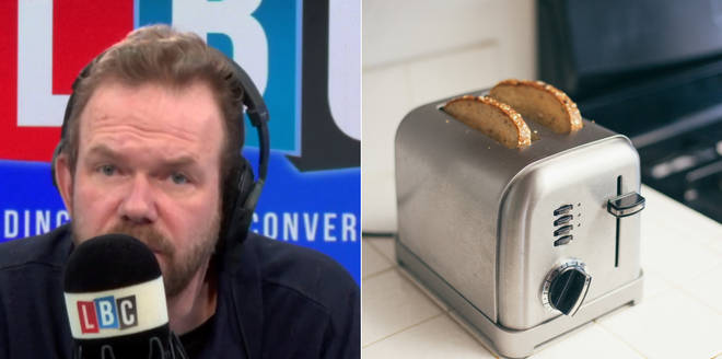 James O'Brien used a toaster analogy to explain Brexit