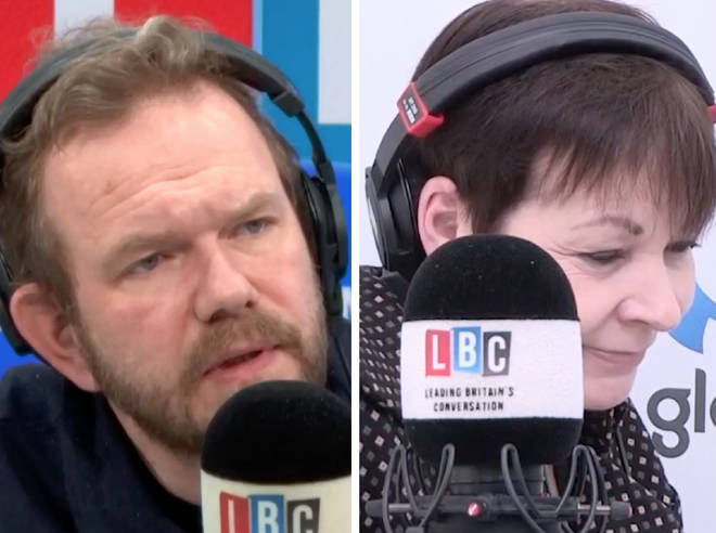 Caroline Lucas spoke to James O'Brien from College Green on Thursday