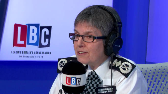 Cressida Dick live on LBC