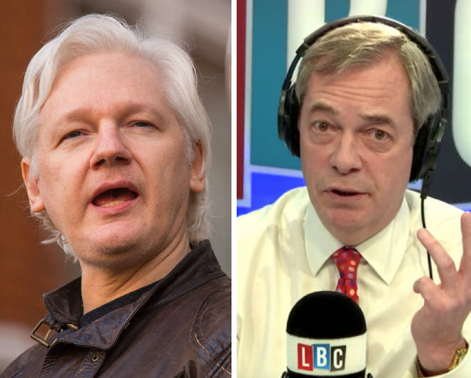 Farage Assange
