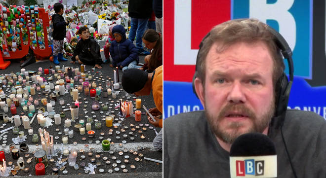 James O'Brien was discussing the New Zealand mosque shootings